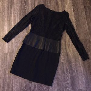 🌟 Black Lace Boston Proper Dress - 10